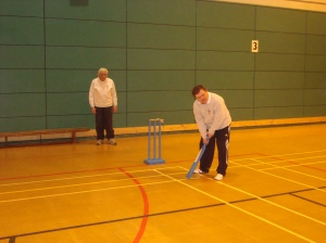 Another team game, this time Cricket